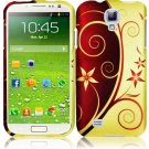 Hard Plastic Rubberized Snap On Case Cover for Samsung Galaxy S4 IV i9500 – Elegance Swirl