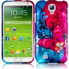 Hard Plastic Snap On Design Case Cover for Samsung Galaxy S4 IV i9500 – Butterfly Bliss
