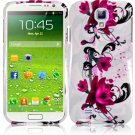 Hard Plastic Snap On Design Case Cover for Samsung Galaxy S4 IV i9500 – Purple Lily
