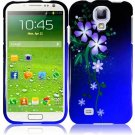 Hard Plastic Snap On Design Case Cover for Samsung Galaxy S4 IV i9500  Nightly Flowers
