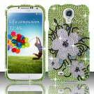 Hard Plastic Snap On Bling Case Cover for Samsung Galaxy S4 IV i9500 – Hawaiian Flower