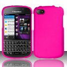 Hard Plastic Snap On Case Cover Blackberry Q10 (AT&T/Sprint/T-Mobile/Verizon) - Rose Pink