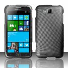 Cell Phone Case Cover Hard Plastic Snap On for Samsung  ATIV S T899m (T-Mobile) - Carbon Fiber