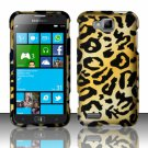 Cell Phone Case Cover Hard Plastic Snap On for Samsung  ATIV S T899m (T-Mobile) - Golden Cheetah
