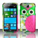 Cell Phone Case Cover Hard Plastic Snap On for Samsung  ATIV S T899m (T-Mobile) - Starry Owl