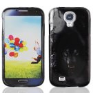 Hard Plastic Rubberized Snap On Case Cover for Samsung Galaxy S4 IV i9500  Wolf