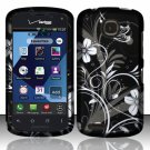 Cell Phone Case Cover Hard Plastic Snap On for Pantech Marauder ADR910L (Verizon) - Midnight Garden