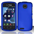 Cell Phone Case Cover Hard Plastic Snap On for Pantech Marauder ADR910L (Verizon) - Blue