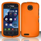Cell Phone Case Cover Hard Plastic Snap On for Pantech Marauder ADR910L (Verizon) - Orange