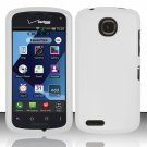 Cell Phone Case Cover Hard Plastic Snap On for Pantech Marauder ADR910L (Verizon) - White