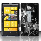 Cell Phone Case Cover Hard Plastic Snap On for Nokia Lumia 920 (AT&T) – Midnight Garden