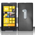 Cell Phone Case Cover Hard Plastic Snap On for Nokia Lumia 920 (AT&T) – Carbon Fiber