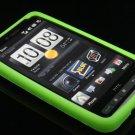 Soft Silicone Skin Cover Case For HTC HD2  - Green