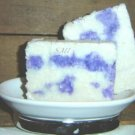 Lilacs in Blossom - Handmade LARD Shea Cocoa Butter Natural Soap - Large Bars