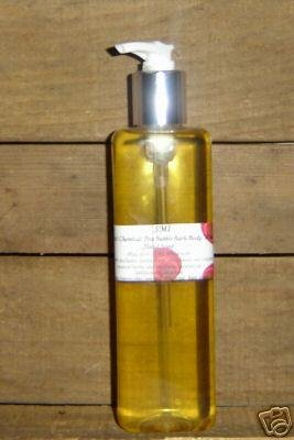 8 oz Pump Natural Bubble Bath Body Wash Hand Soap