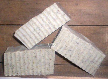 Shea Cocoa Butter REAL Natural Soap Lavender Peppermint Jasmine Eucalyptus and Kelp LARGE