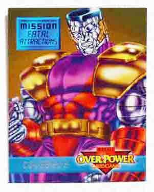 "Marvel OverPower ""Fatal Attractions""  Colossus"
