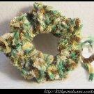 Crocheted scrunchie - forest green
