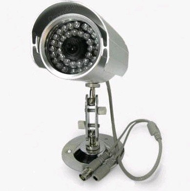 "1/3"" Sony CCD Infrared Waterproof CCTV camera 36 LED"