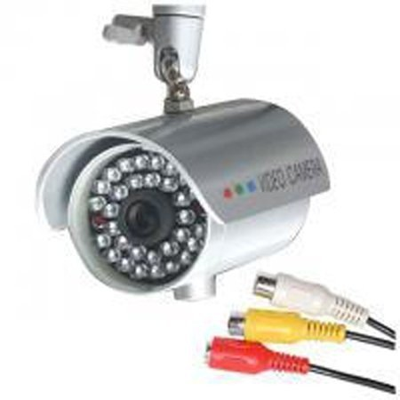 New CCTV Waterproof Wired 30 LED Infrared Color Camera