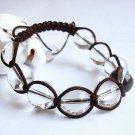 14mm Rock crystal bracelet Quartz Feng Shui Free Gift Zi Wei Dou Shu Fortune-telling