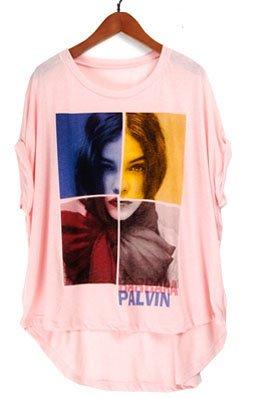 free shipping flower shirt M