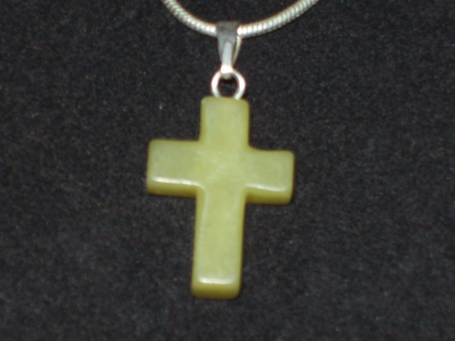Brand New Crystal Cross Necklace