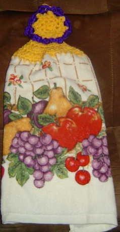 fruit kitchen towel