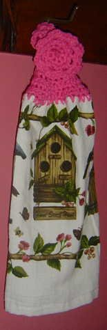 BIRDHOUSE kitchen towel