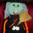 WILMA WITCH crochet BOTTLE COVER crochet