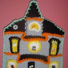 HALLOWEEN HAUNTED HOUSE POTHOLDER