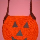PUMPKIN TRICK OR TREAT BAG crochet
