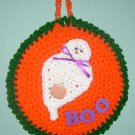 GHOST POTHOLDER WALLHANGING