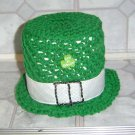 crochet IRISH HAT TISSUE COVER