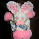crochet EASTER BUNNY bar soap holder hider cover