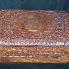 Hand Carved Jewelry Box from India