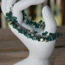 Green flapper bracelet