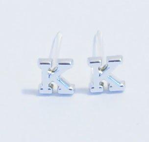 Initial Alphabet B K H W Y J S M N Hypo Earrings