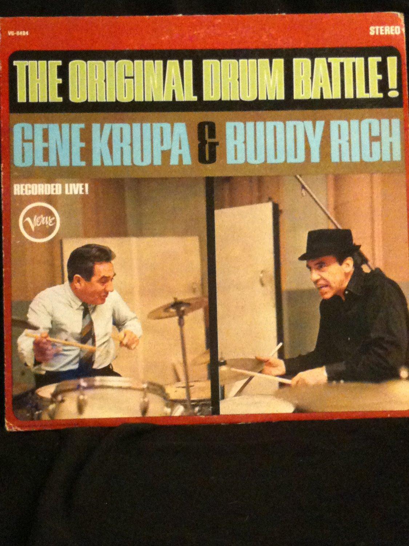 Gene Krupa & Buddy Rich