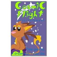 Cosmic Flight Entertainment Poster