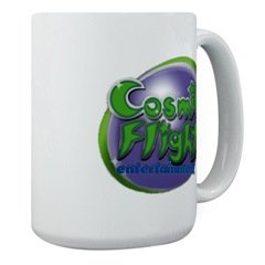 Cosmic Flight, Large Mug