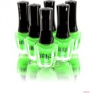 DAHLIA COSMETICS NAIL LACQUER POLISH IN NEON GREEN 0.5 FL. OZ
