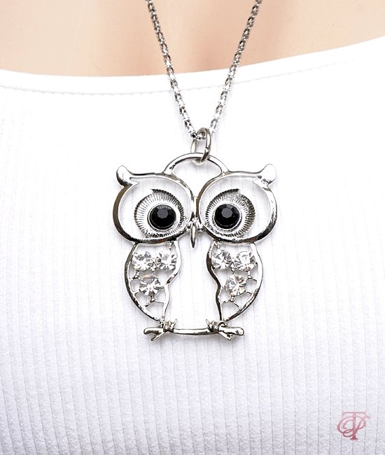 """""""Whooty"""" the owl necklace"""