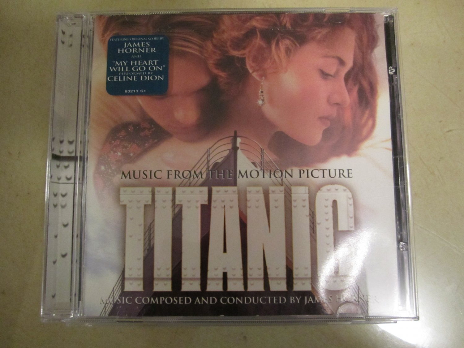 Titanic CD~Music from the Motion Picture