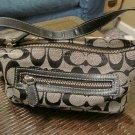 Coach Black Baguette Handbag