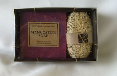 Mangosteen Natural Soap in Gift Box