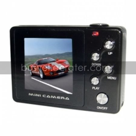 1280 x 960 Mini DVR with 1.4 LTPS TFT Color Screen Voice Activated Recorder Motion-Activated