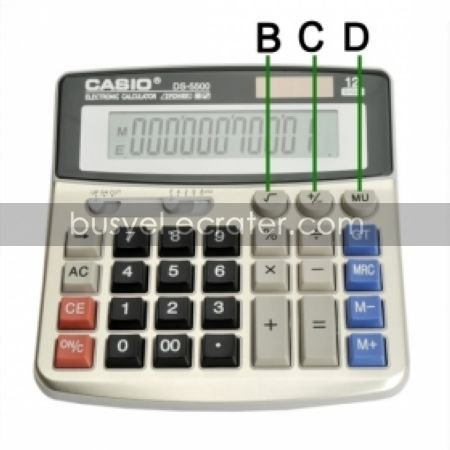 4GB Calculator Style HD Spy Camera