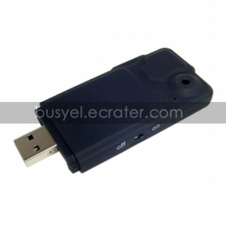 4-in-1 Slim USB DVR with Card Reader and Audio Recorder, Hidden Camera(QW089)