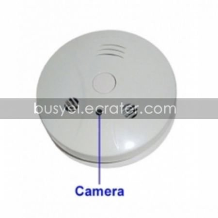 8GB Smoke Detector with 2.0MP Hidden Camera (2.0MP+Remote Control)